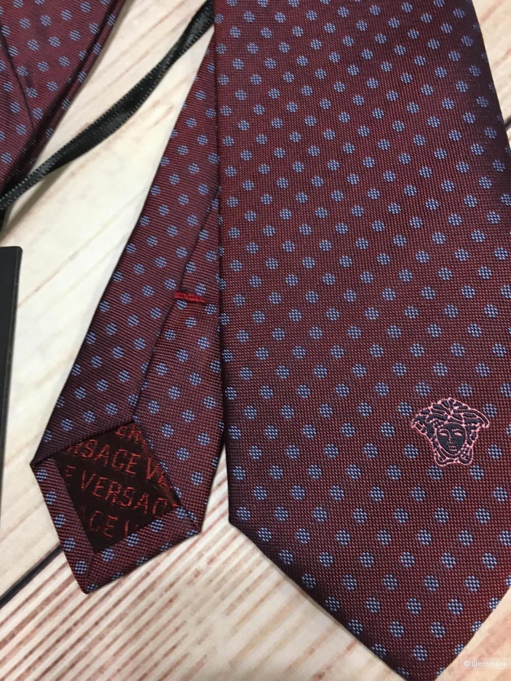 Галстук Versace, 100% шелк