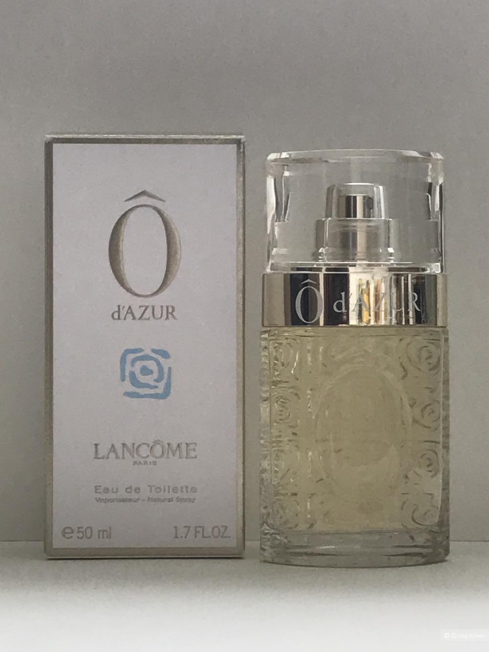 Lancome O d'Azur, туалетная вода 50 мл