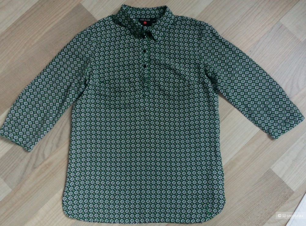 Комплект джинсы и рубашка размер 42-44