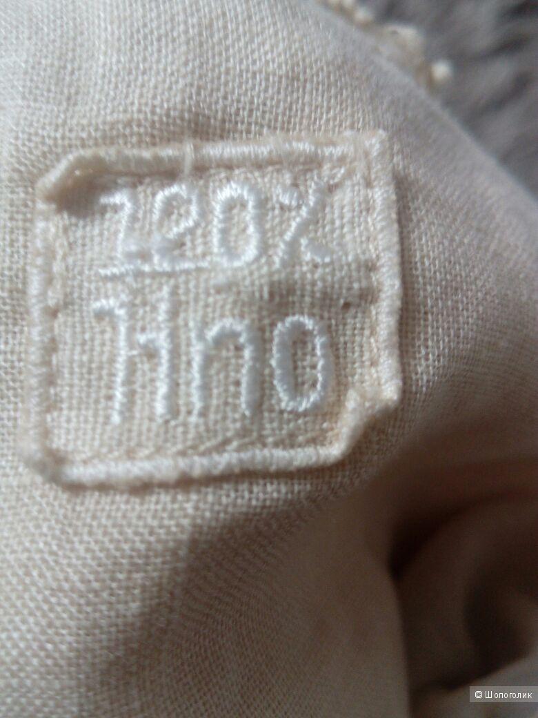 Топ на бретельках 120% lino, размер S
