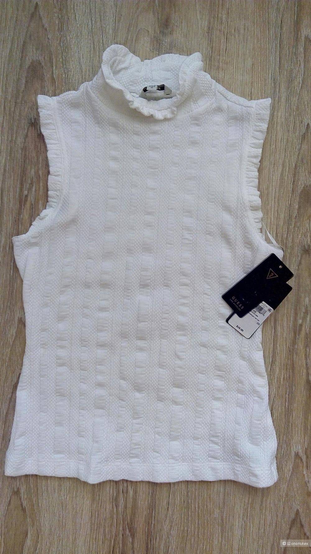 Лот топ Guess + юбка Denim&Co, размер 42-44