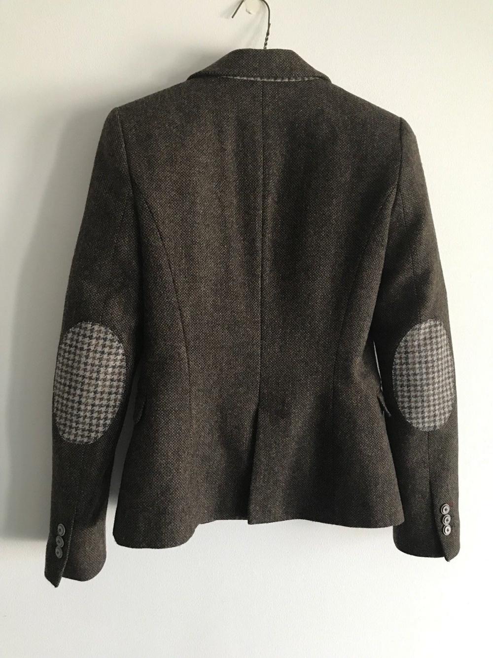 Zara Basic, шерстяной жакет, S
