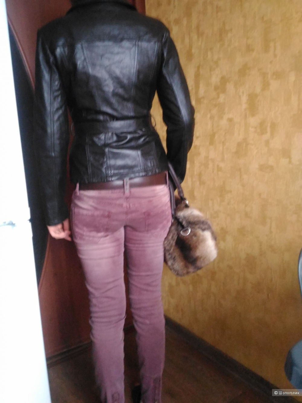 Куртка кожаная,   бренд, MAXIMA  -S