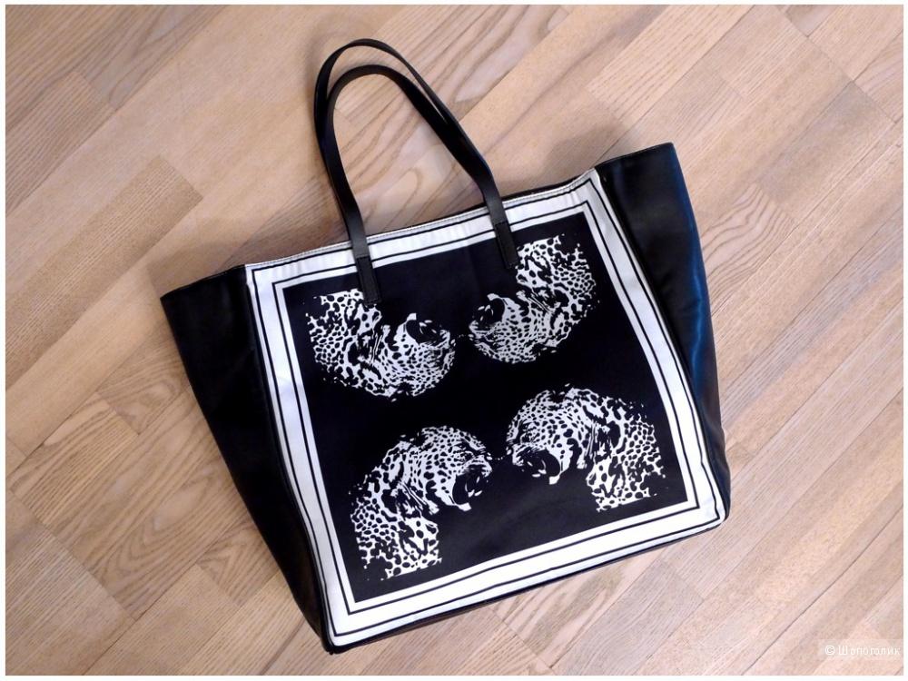 Zara сумка шопингбэг