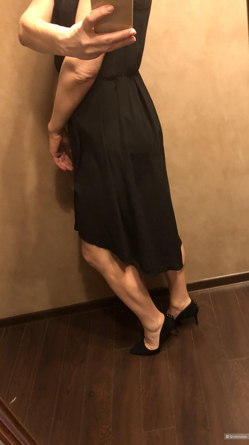 Шифоновое платье reserved 38/44ru