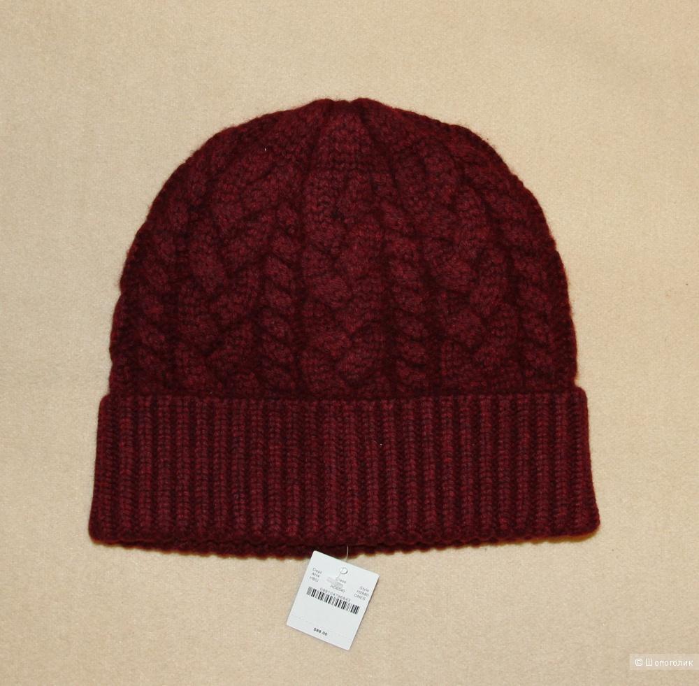 Кашемировая шапка J.Crew, one size