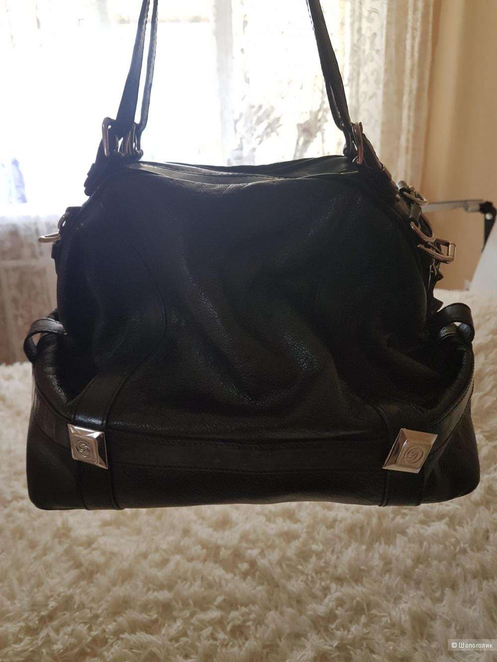 Кожаная сумка GILDA TONELLI