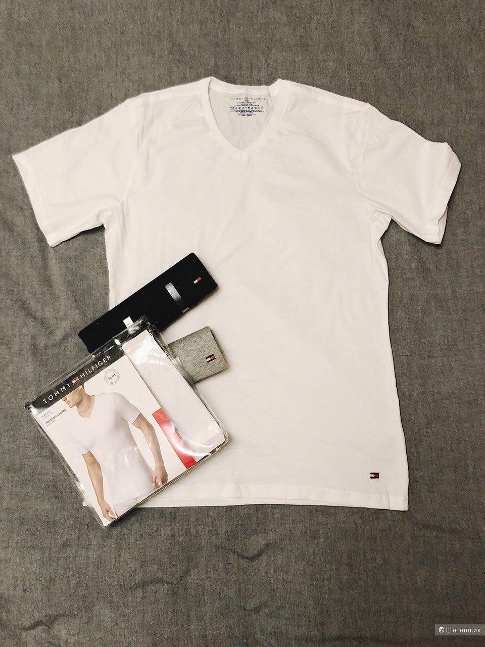 Мужские футболки Tommy Hilfiger 3 шт. Размер L