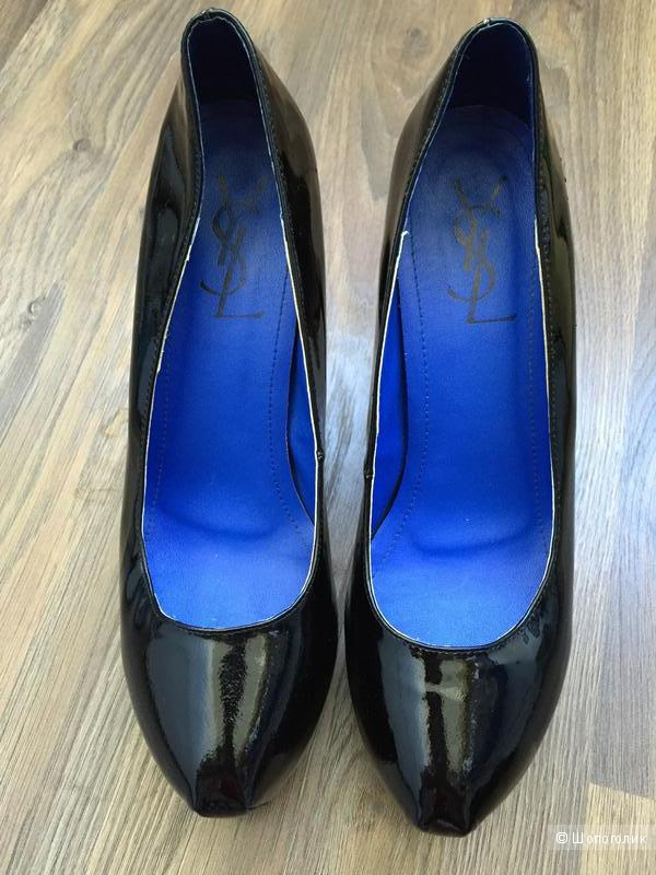 Туфли Ив Сен Лоран 36 размер 15 см шпилька