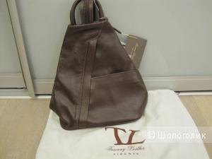 Рюкзак TUSCANY LEATHER темно-коричневый