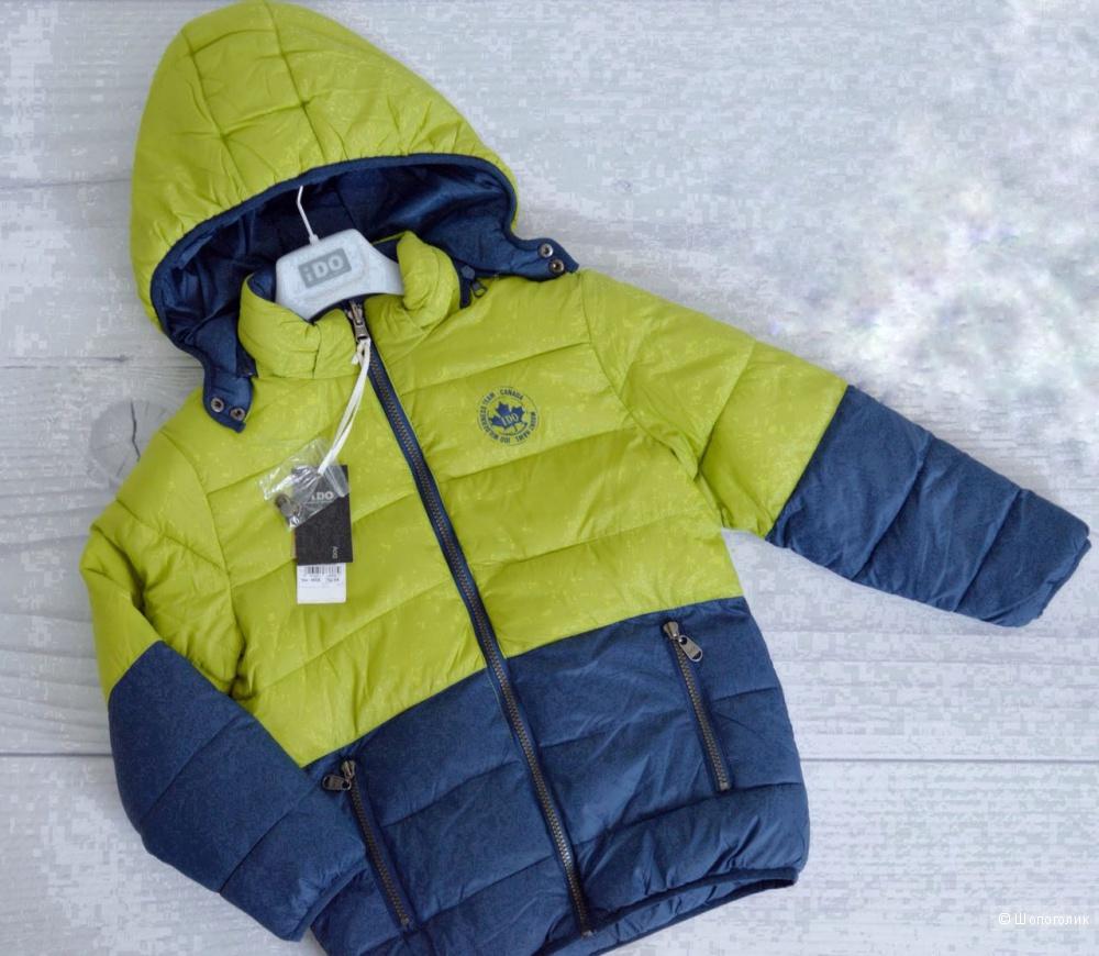Куртка Ido на мальчика 8лет