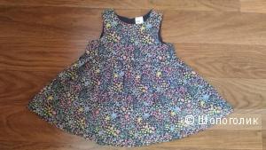 Детское платье H&M, р.68.