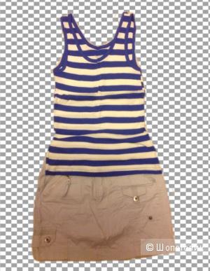 Сет: юбка/YELUSHI + майка/MODIS, разм. XS/S