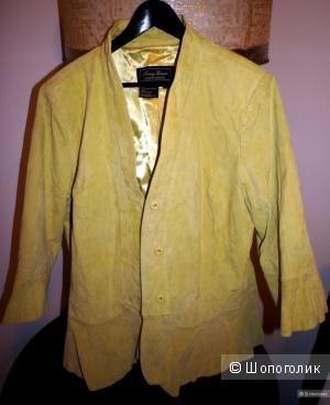 Замшевый пиджак - куртка женская Ferry Jewis, 1х