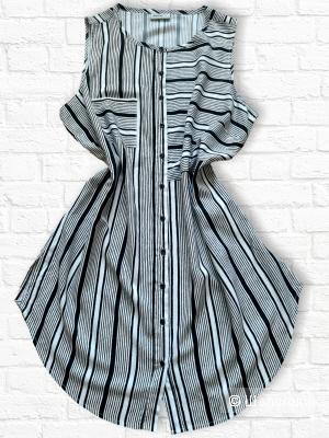 Блузон. Платье-рубашка. Туника. Janina. 48-50.