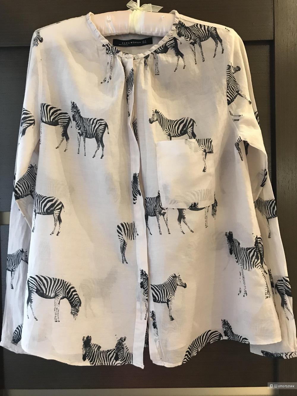 Блузка Zara  р М