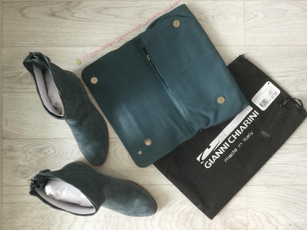 Замшевые ботинки JB Martin, размер 37