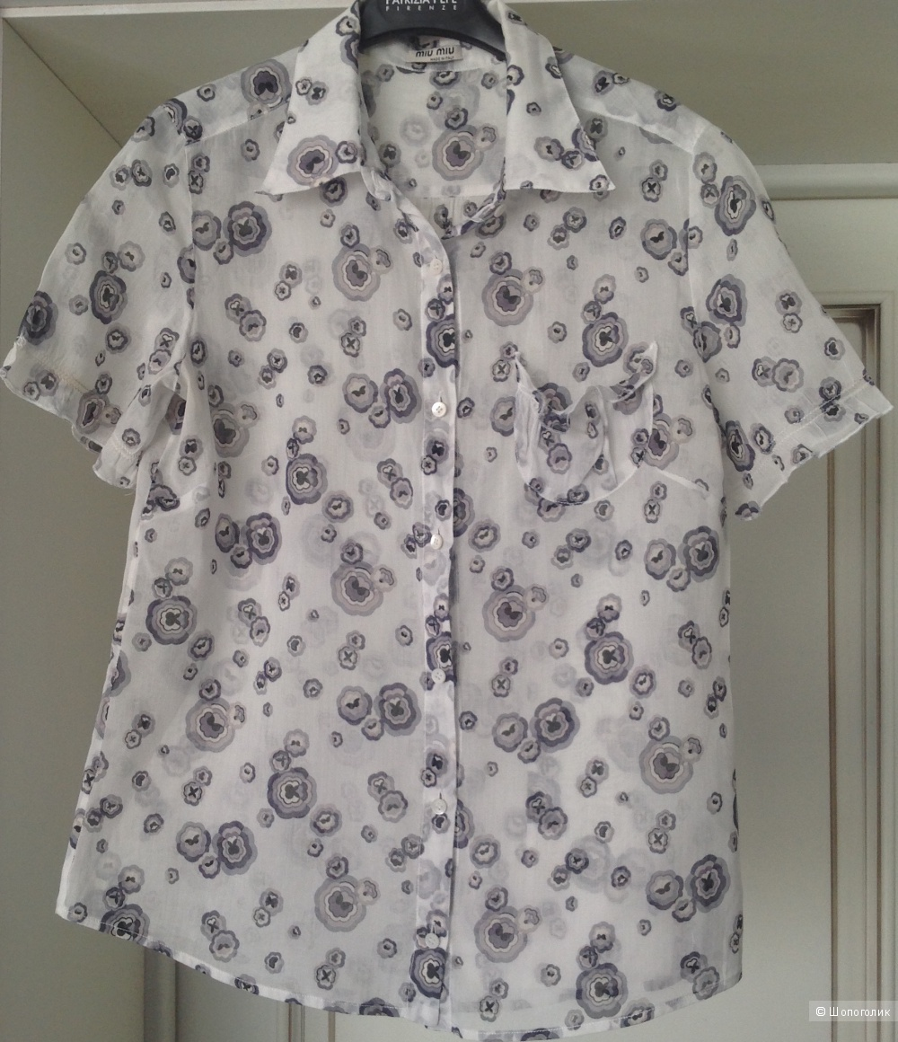 Блуза Miu Miu, 44 IT