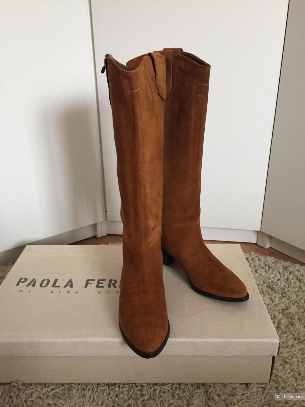 Сапоги PAOLA FERRI, 39 размер
