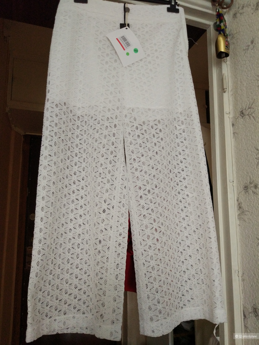 Кружевные  брюки-Палаццо, фирмы EMMA BRENDON,  размер L