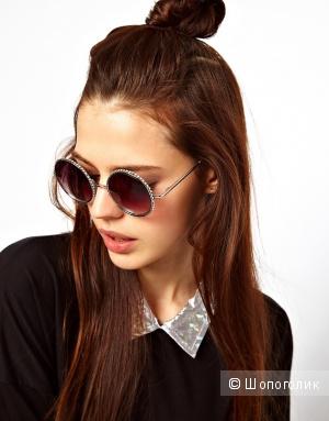 Солнцезащитные очки Chanel, one size