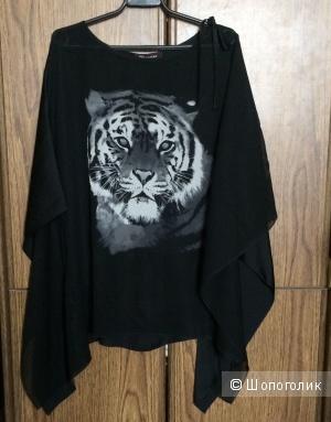 Блуза с принтом MONTON размер 42R/UK16
