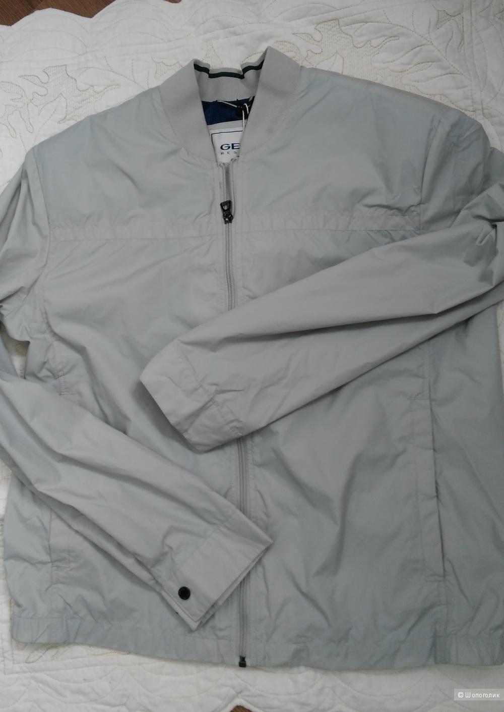 Мужская куртка-бомбер GEOX, размер 50 ит