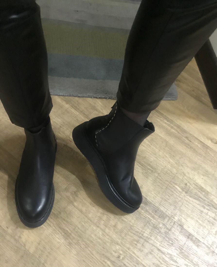 Осенние ботинки челси CULT,  черные 38 европейский размер