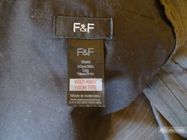 """Брюки """"F&F"""", размер 52"""