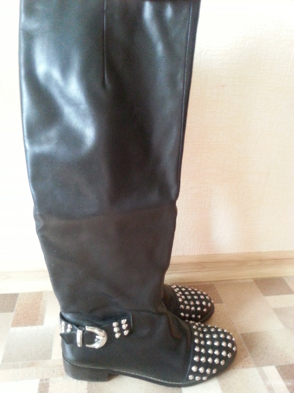 Кожаные сапоги saveno размер 39