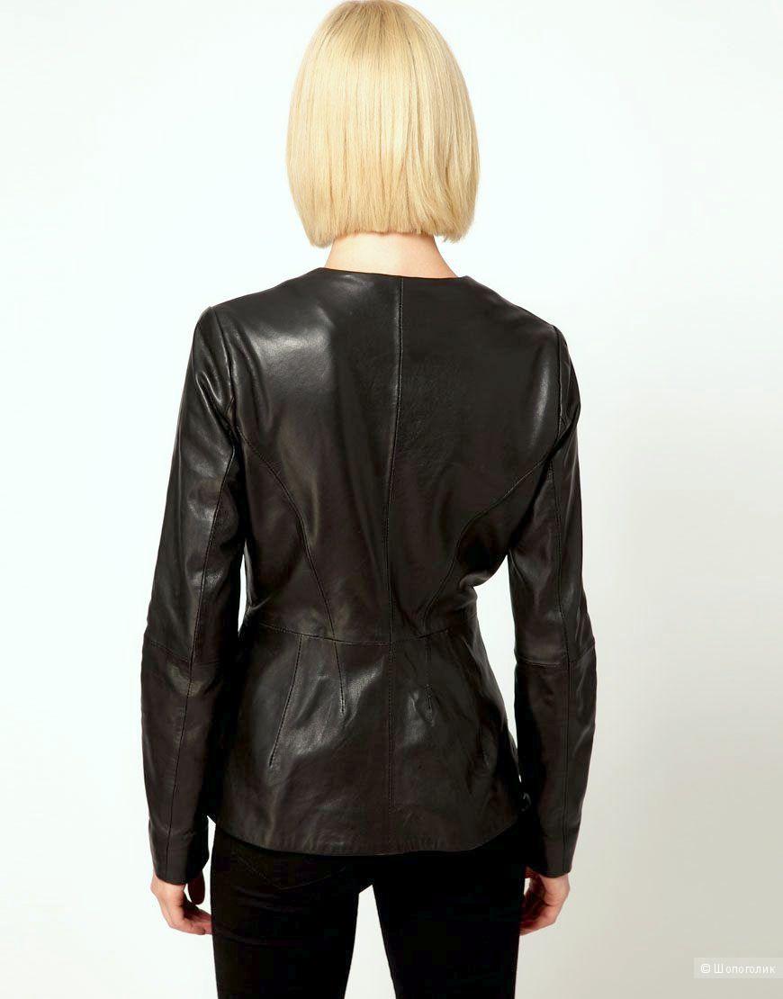 Кожаная куртка Asos 46 р UK 12