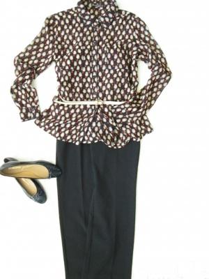 Сет блузка   Кira Plastinina + брюки Steilman р. 42 ~44