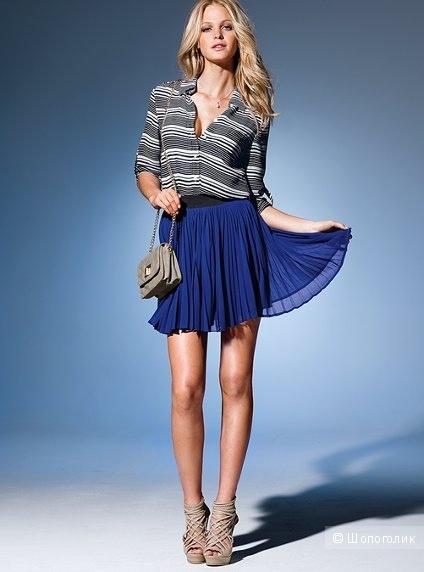 Плиссированная юбка Victoria's Secret размер 6