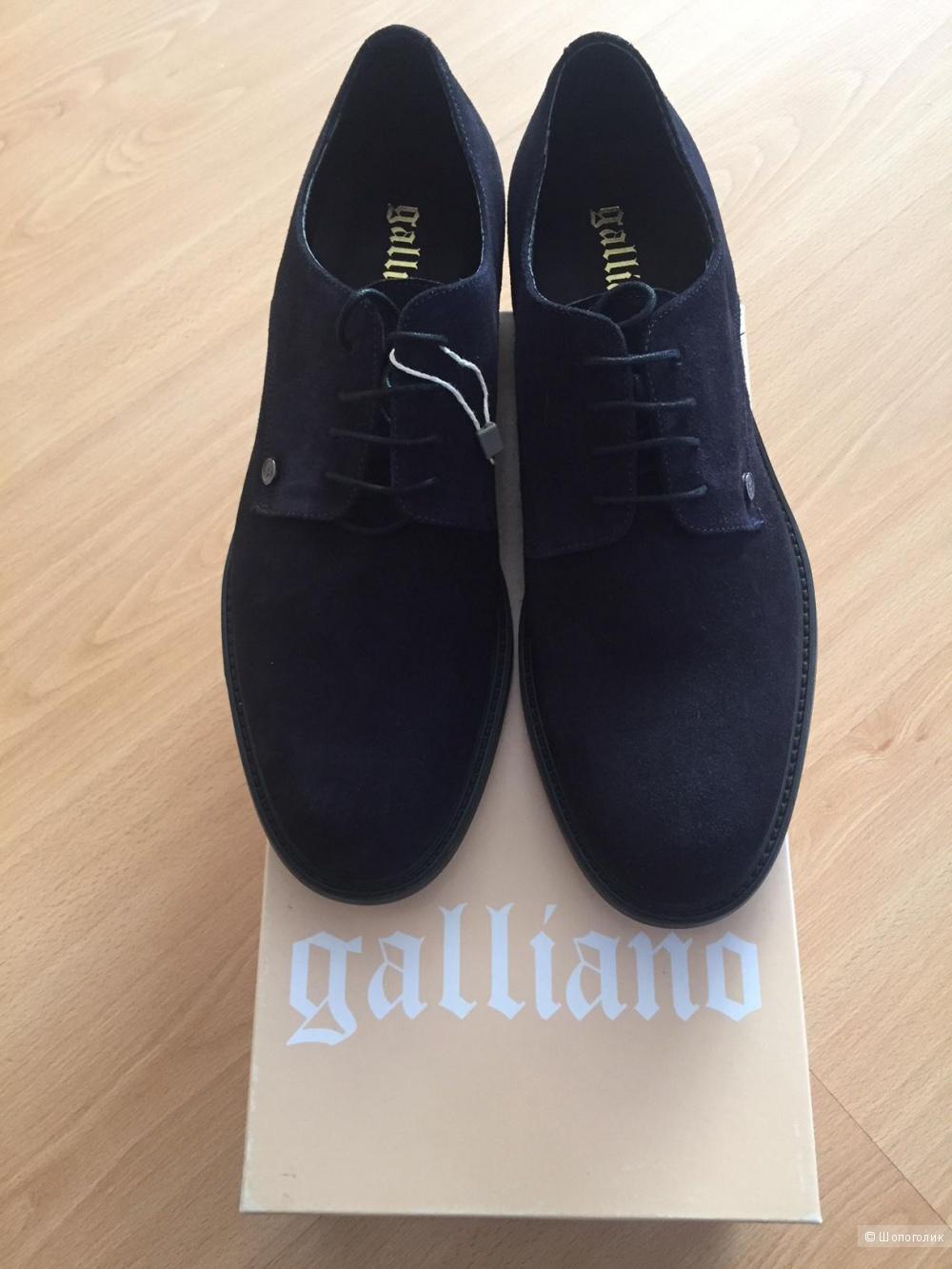 Ботинки мужские Galliano, р.44
