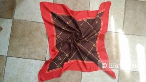 Шелковый платок  Jacqmotte . 85 см на 87 см