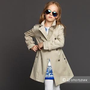 Тренч для девочки бренда Zara, 8-10 лет, рост 140