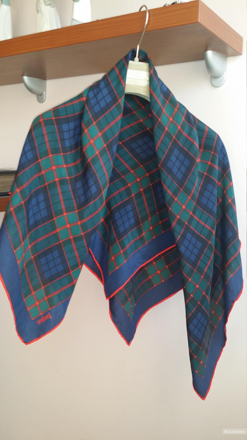 Шелковый платок  Loredano . 89 см на 89 см