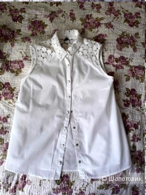 Блузка из хлопка Zara 42-44