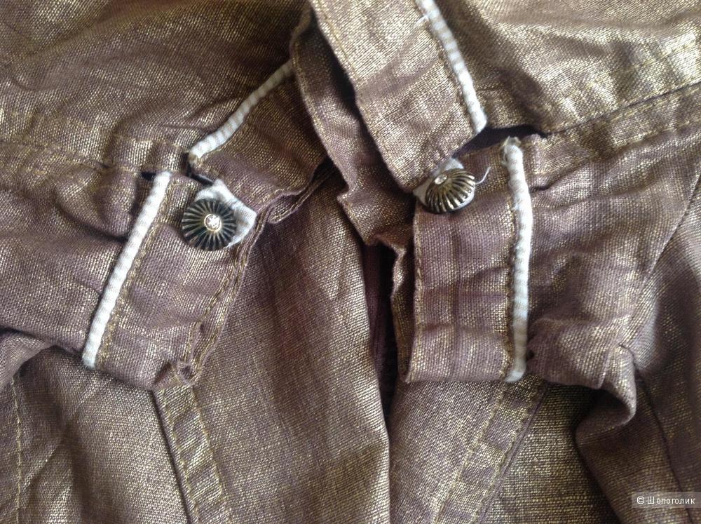 Льняной костюм, Kaner, размер 38.