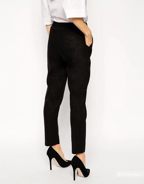 Льняные брюки-сигареты слим ASOS.