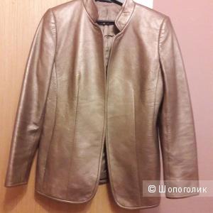 Кожаный пиджак Linda Allard маркировка 10