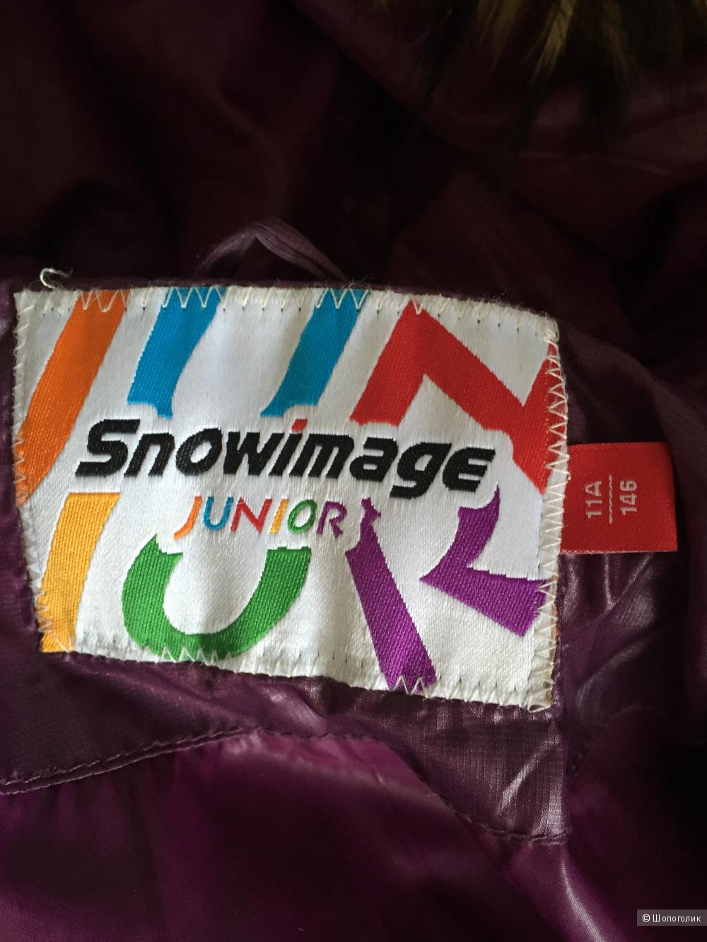 Пуховик ф. Snowimage разм 146