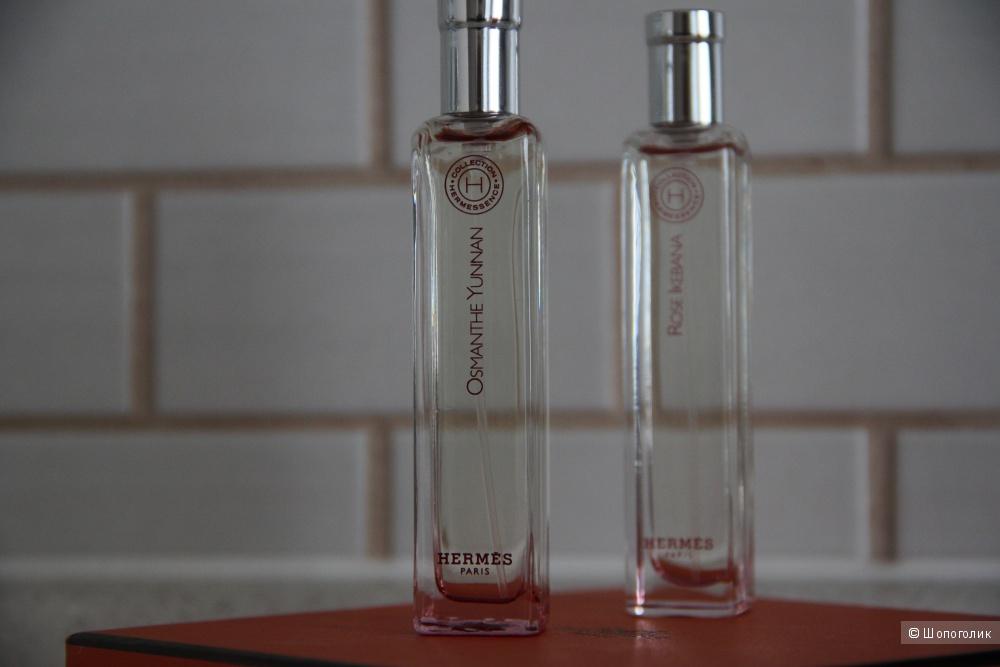Ароматы серии Hermessense: Rose Ikebana и Osmanthe Yunnan, Hermes, 15ml