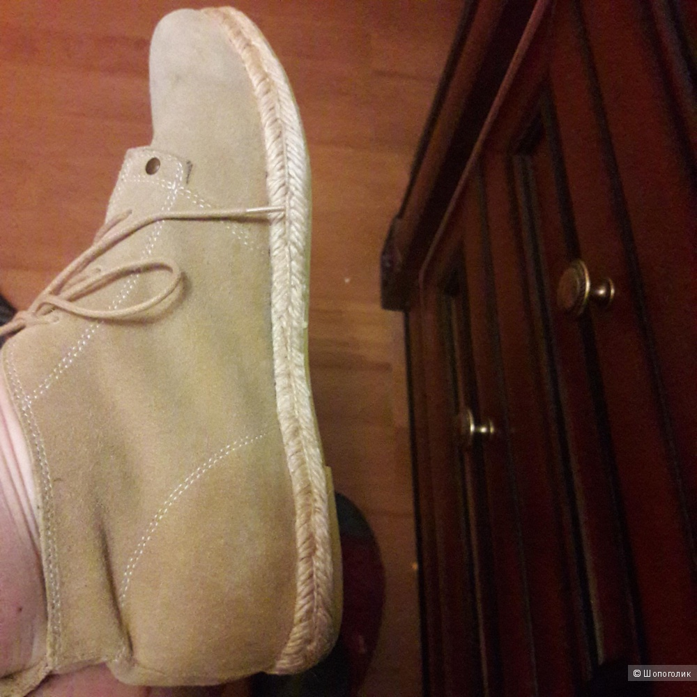 Ботинки-эспадрильи 40 размера