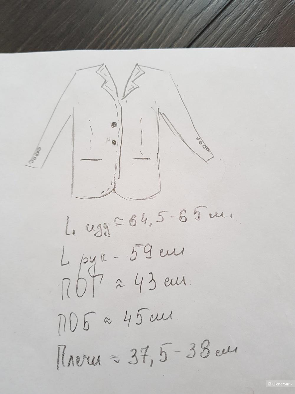 Massimo Dutti пиджак 44-46