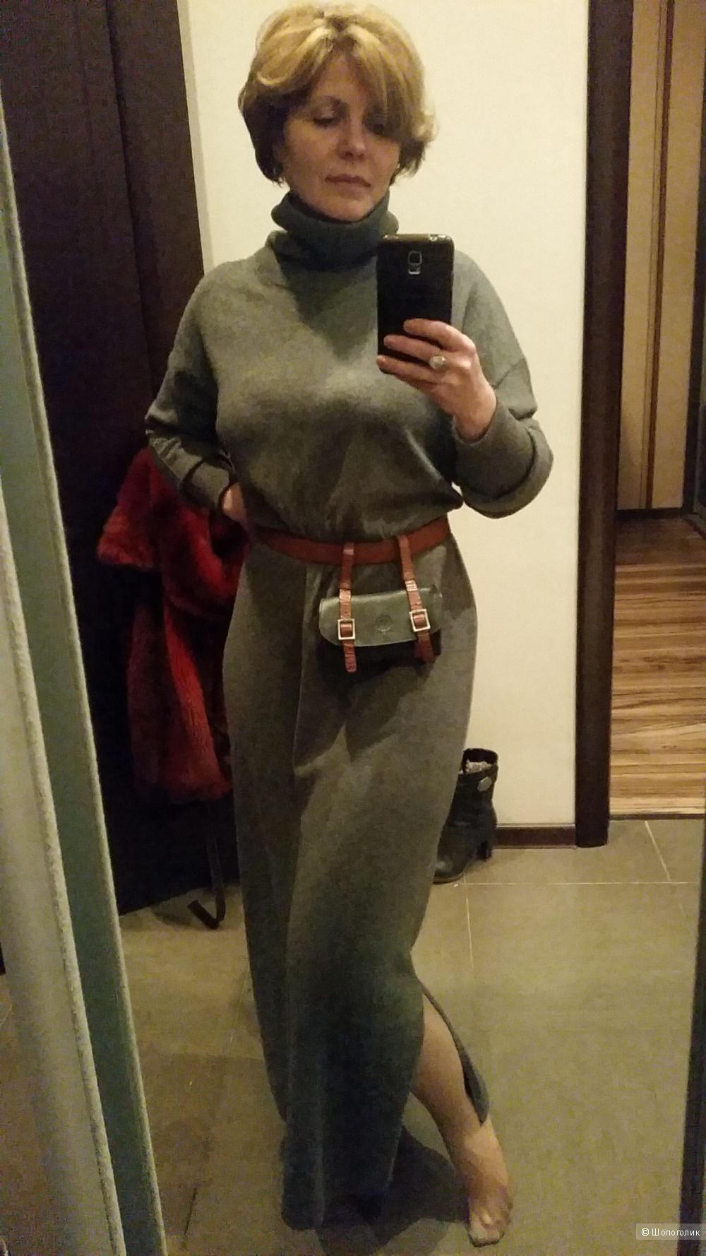 Кашемировое платье ReVera,  48 размер
