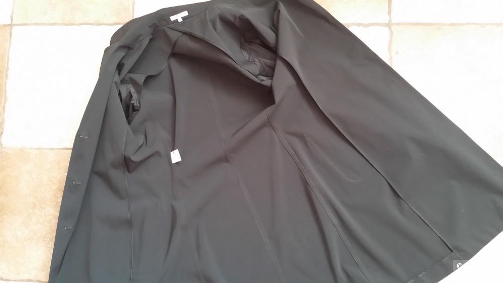 Черное легкое плащ-пальто Strenesse , 46-48 р-р