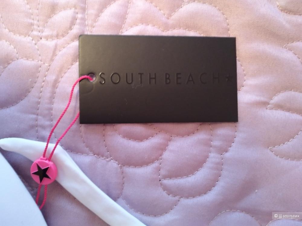 Купальник South Beach, размеры EU 75B (верх) и 38 (низ)
