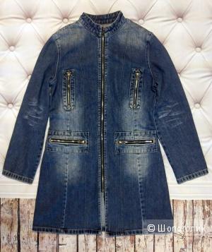 Westland - джинсовый плащ, 44-46 размер.