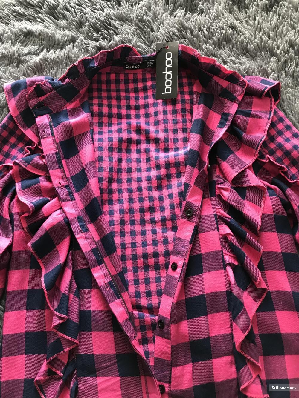 Рубашка Boohoo UK 8 / EU 36